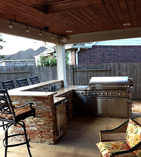 Landscape, Outdoor Kitchens