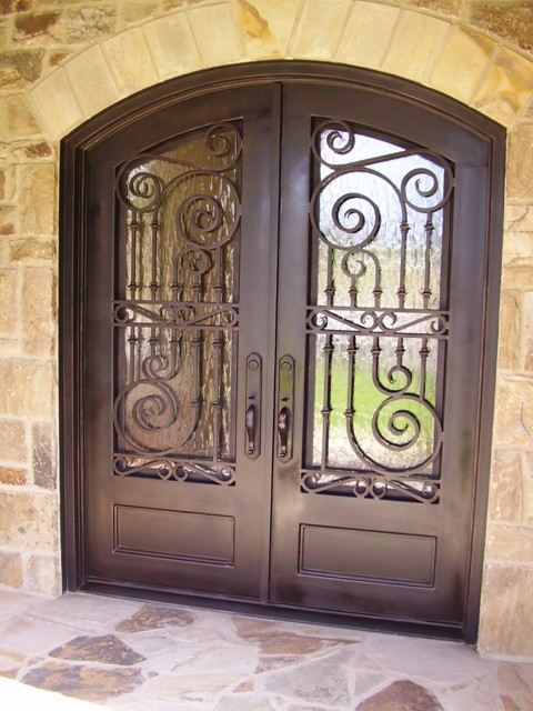 We can make any of the doors you see in the gallery. If you find a door design that you like we can quote you on that as well. & El Paso Custom Iron Works - Custom Doors
