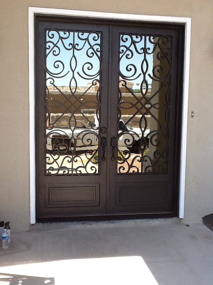 El Paso Custom Iron Works Custom Doors