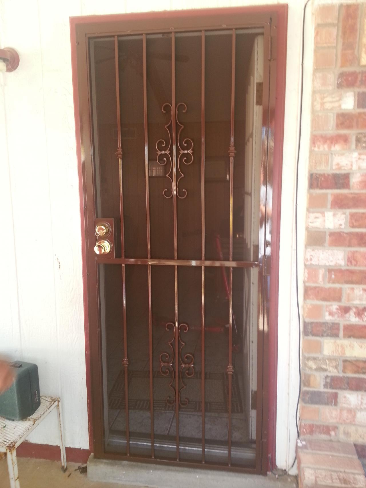 El Paso Custom Iron Works Standard Security Doors