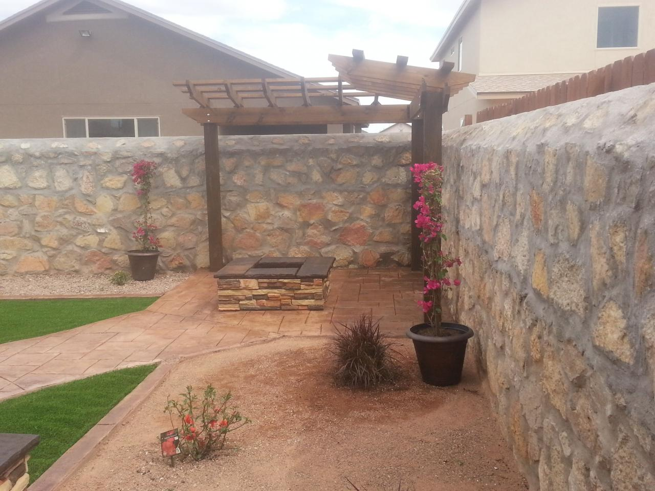 El Paso Custom Iron Works Landscape Outdoor Kitchens