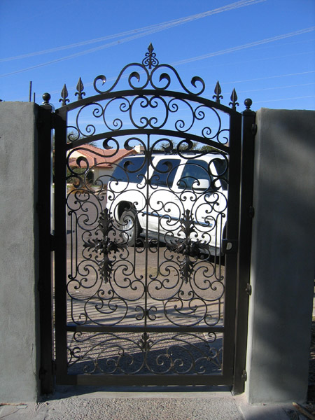El Paso Custom Iron Works Gates