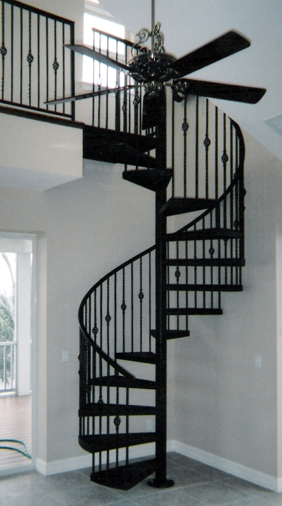 Great Spiral Staircases