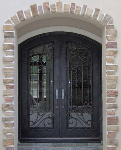 El Paso Custom Iron Works Doors