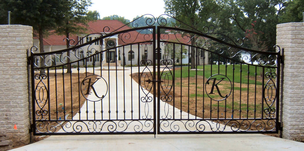 El paso custom iron works gates Metal gate designs images